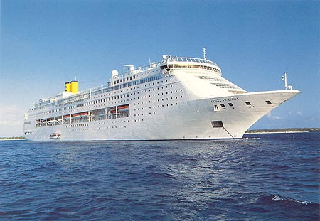 Cruiseschip Costa Victoria