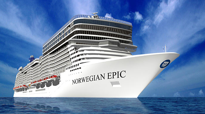 Cruiseschip Norwegian Epic