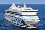 Cruiseschip AIDAaura