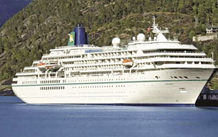 Cruiseschip MS Amadea