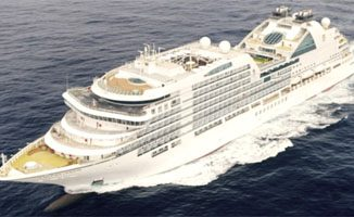Cruiseschip Seabourn Ovation