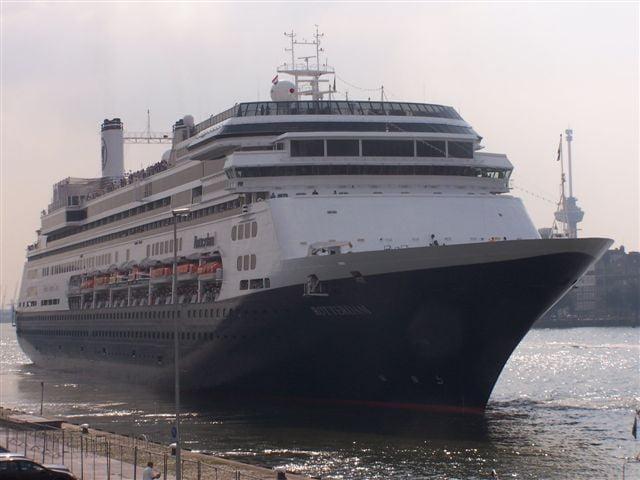 Cruiseschip MS Rotterdam