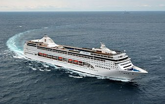 Cruiseschip MSC Lirica