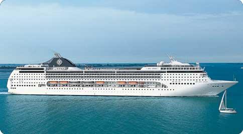 Cruiseschip MSC Opera