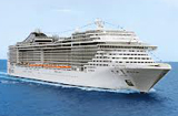Cruiseschip MSC Splendida