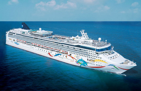cruiseschip Norwegian Dawn