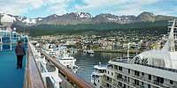 Cruiseschip ms Ushuaia