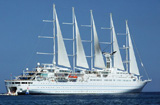Zeilcruiseschip Wind Surf